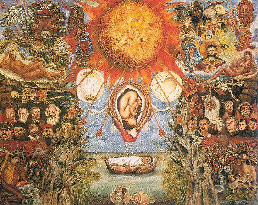 Moses by Frida Kahlo