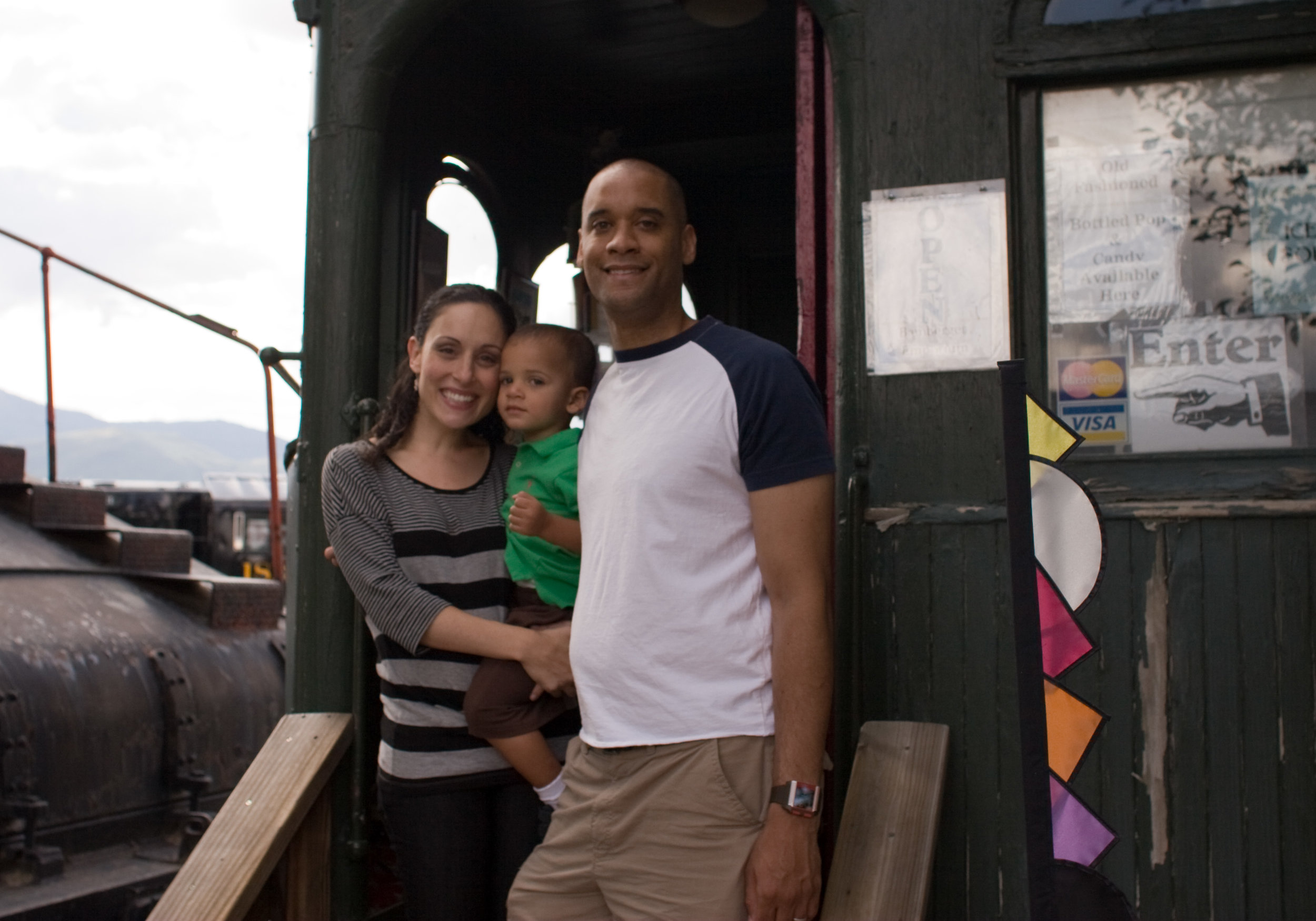 Visiting yet another train in the Heber Valley, Utah, 2009, or The Work I'm Most Proud Of Today