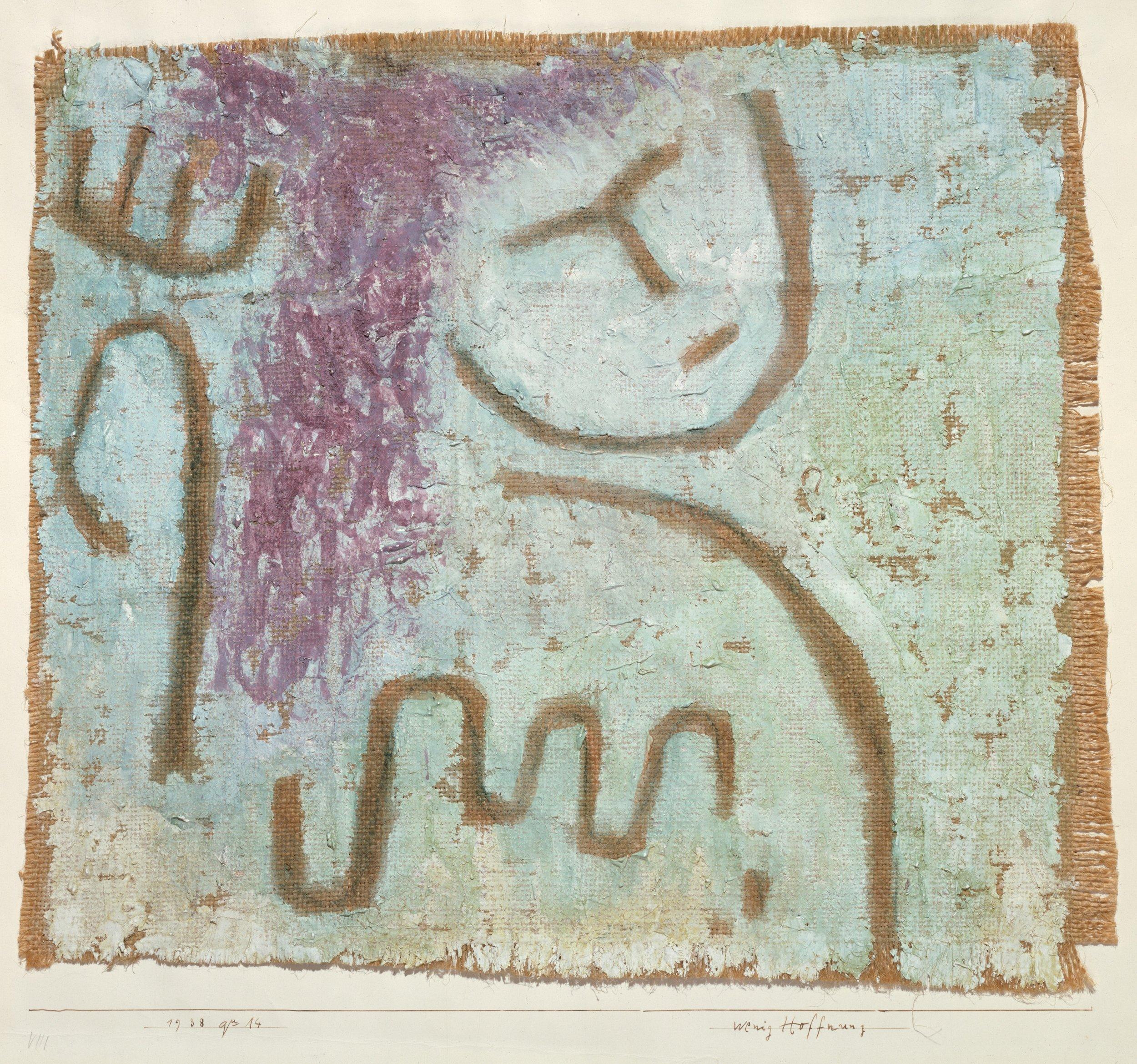 """Paul Klee, """" Little Hope """", Metropolitan Museum of Art"""