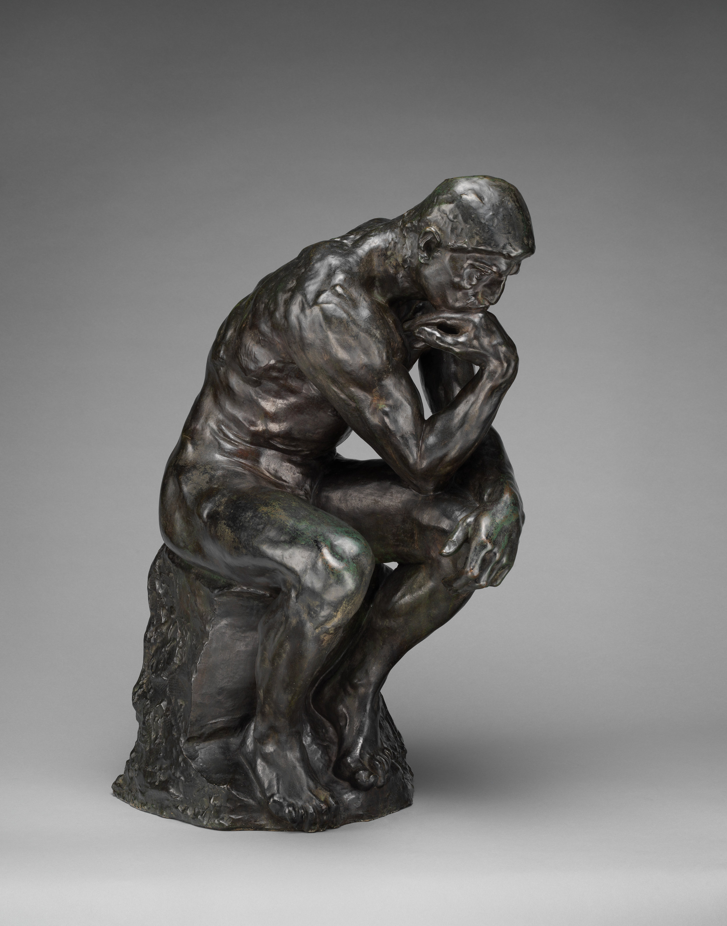 The Thinker , Auguste Rodin, Metropolitan Museum of Art