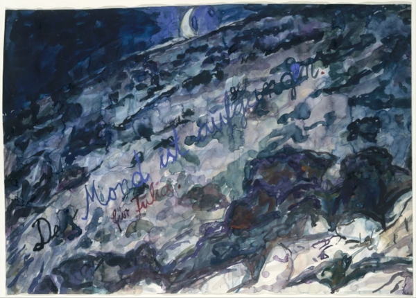The Moon is Risen by Anselm Kiefer