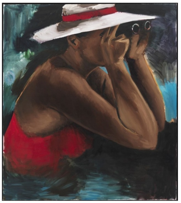 """Womanology 12"" by Lynette Yiadom-Boakeye"