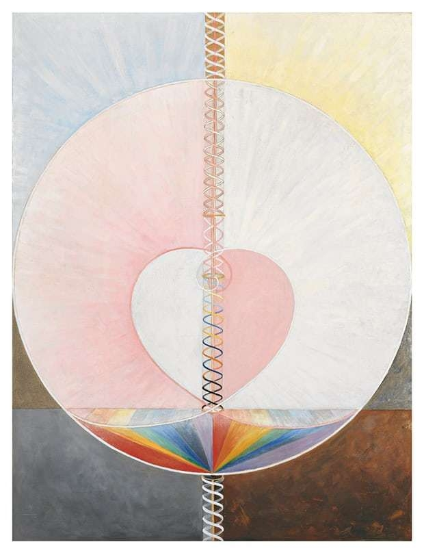 The Dove, Noi by Hilma Af Klint