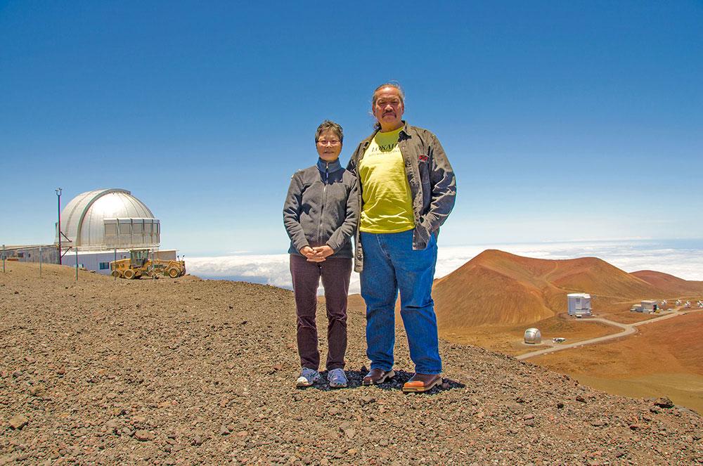 Stephanie Nagata & Wallace Ishibashi