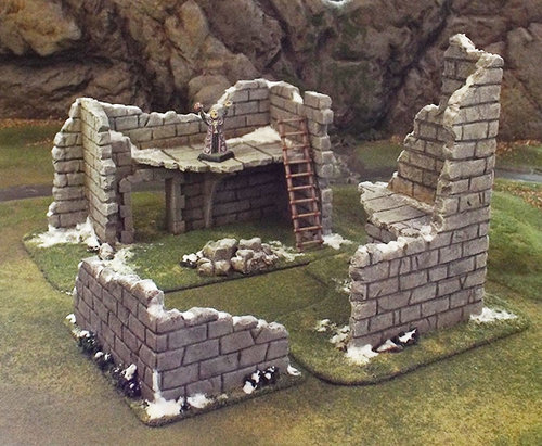 Ruined Building set
