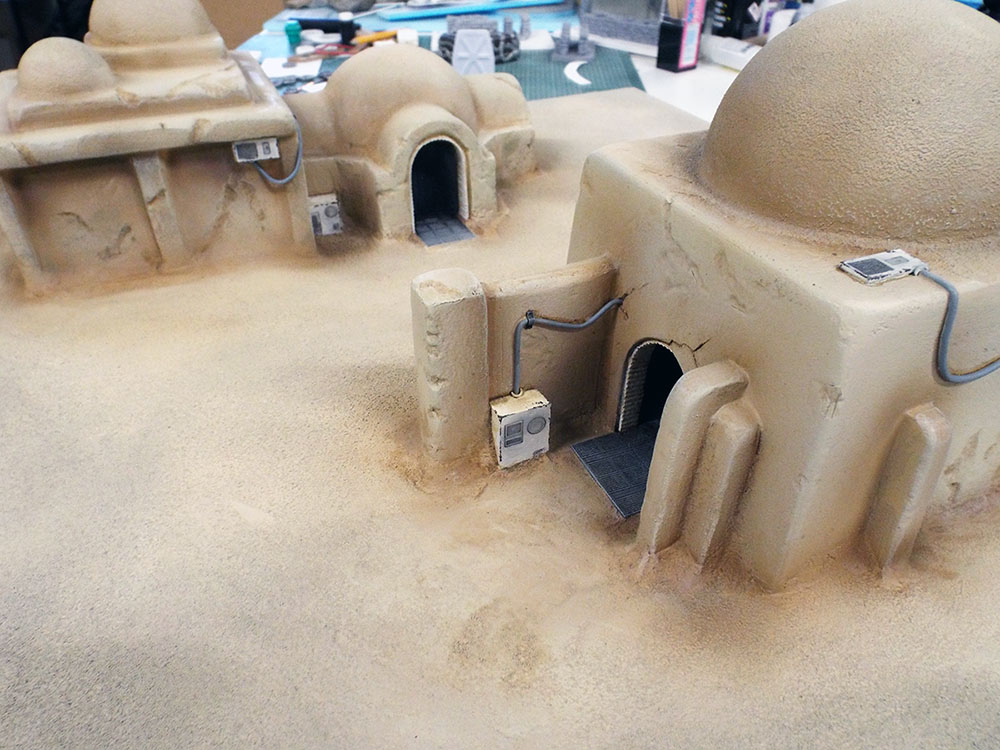 Star Wars Scenery and Terrain