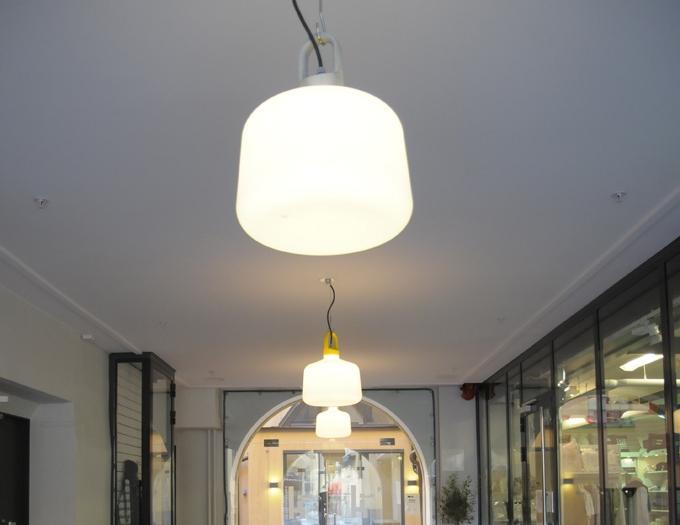 Bottle - Fixture: Bottle pendant.Project: Kneppingsborg, Norrköping.