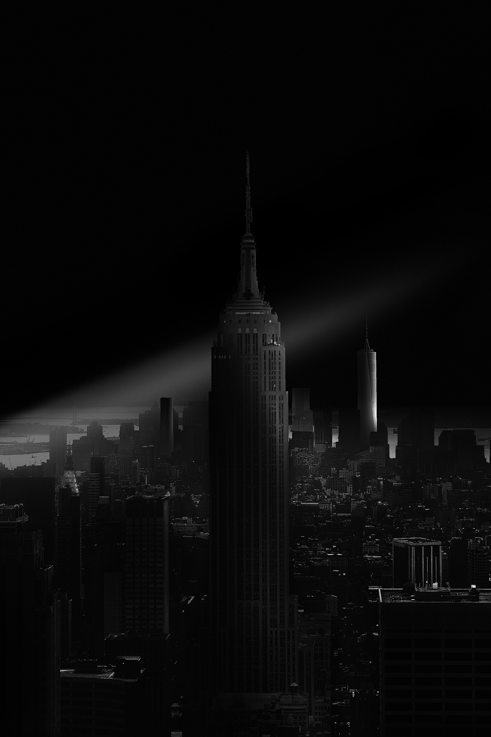 GOTHAM:The Empire, 2015, New York - Beyond Monochrome Exhibit