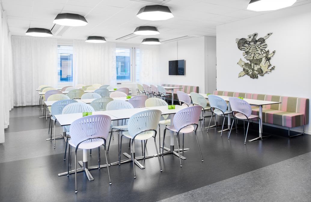 Umbrella - Armatur: Umbrella tak.Projekt: Domstolsakademin, Stockholm.Arkitekt: Ahlgren Edblom Olsson Wiklander.