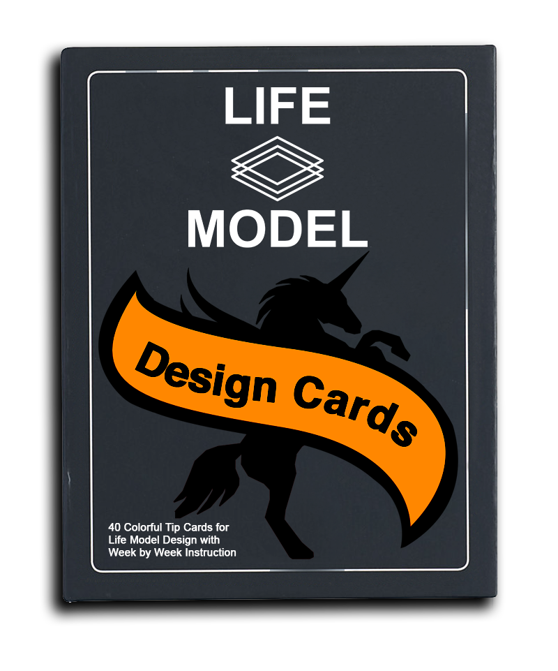 Introducing: Life Model Design Cards & Quick Tips - Based on the Life Model Design methodology by Ayori Selassie, The Life Model Affirmation & Quick Tip Cards offers step-by-step instructions on learning and applying one of the enduring truths of Life Modeling—that design thinking drive commitment. Using the guide's innovative and time-tested activities, trainers, human resource professionals, and consultants can facilitate learning opportunities for executives, managers, and aspiring leaders who are committed to improving their leadership competencies.
