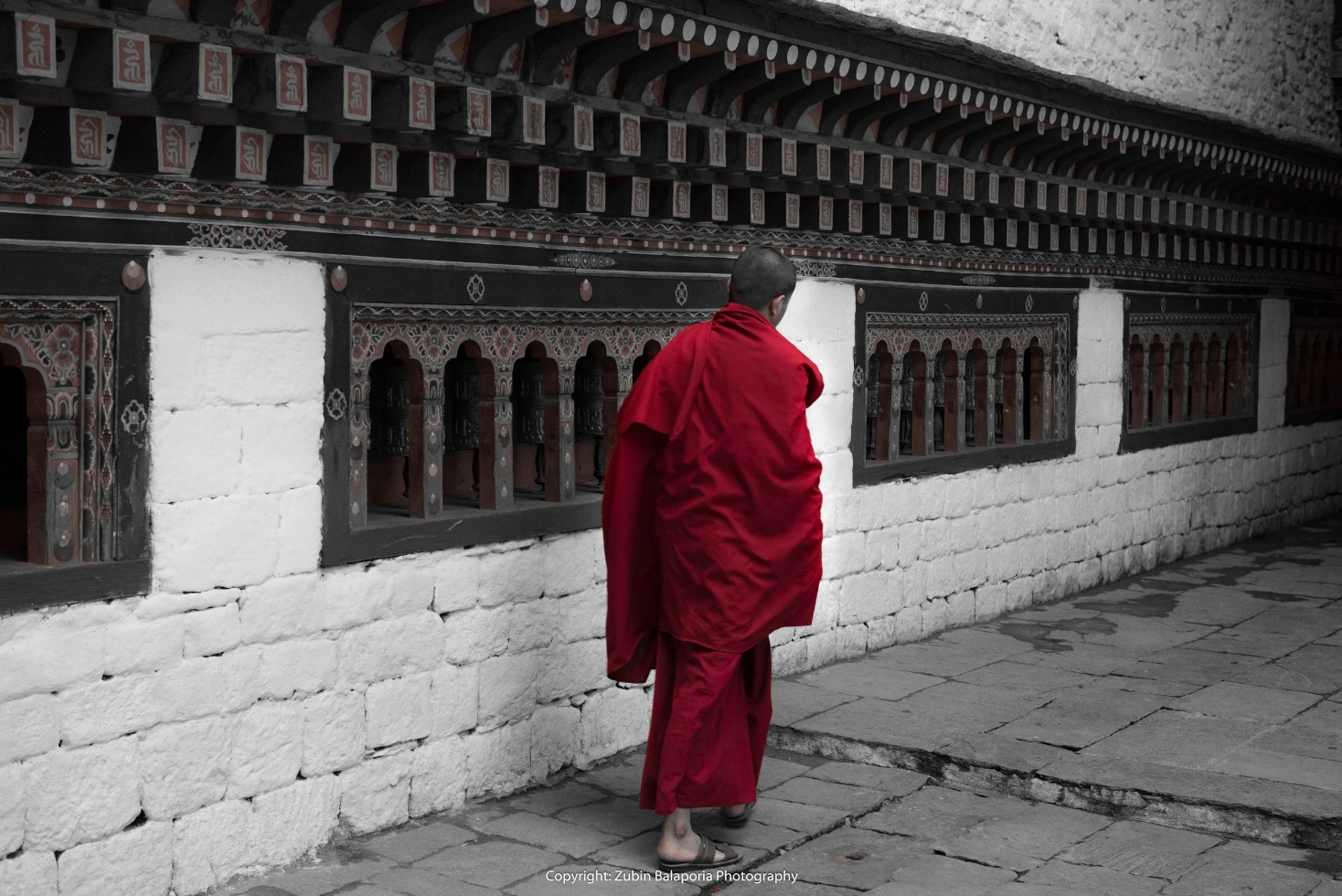 The Red Monk