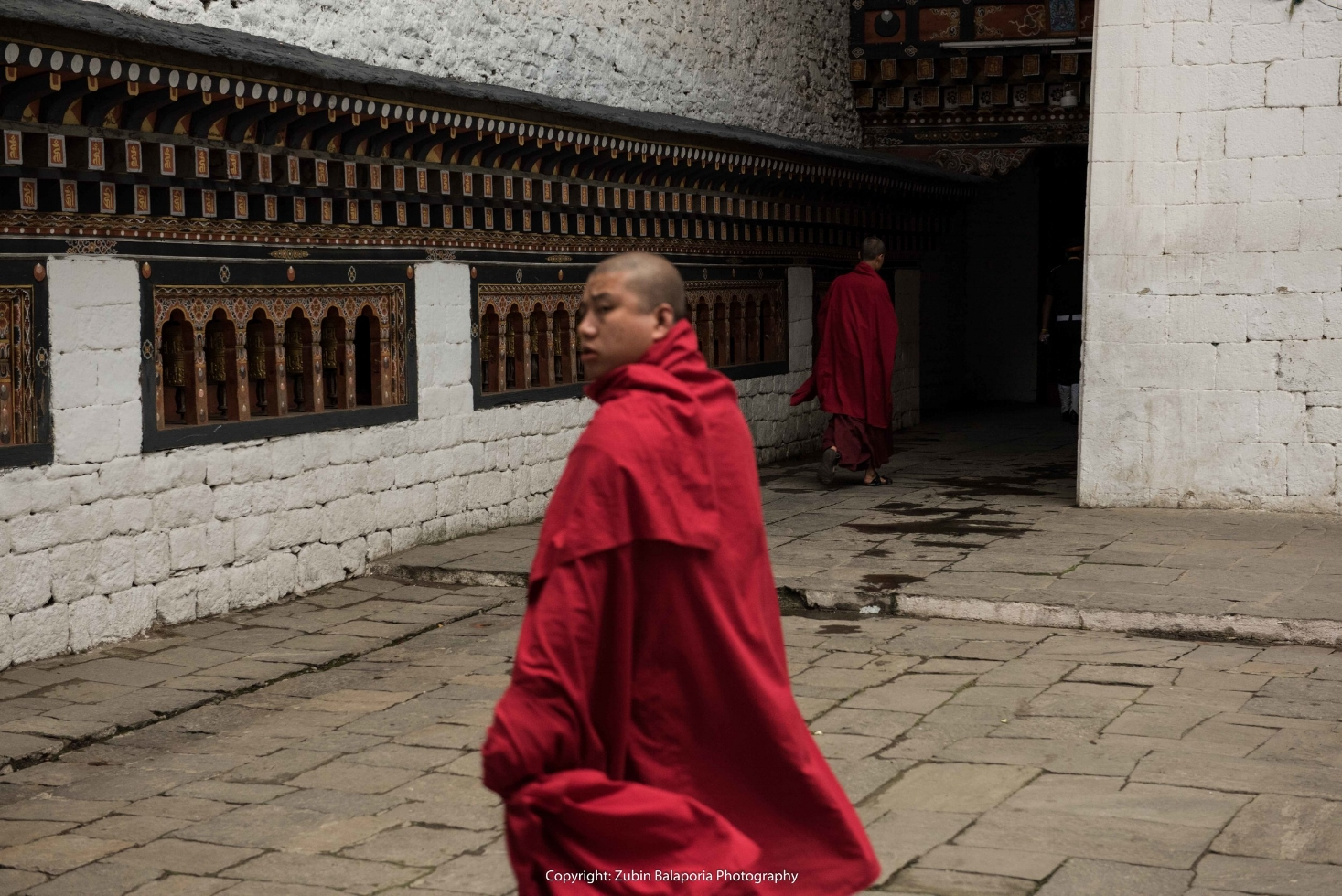 The Spinning Monk