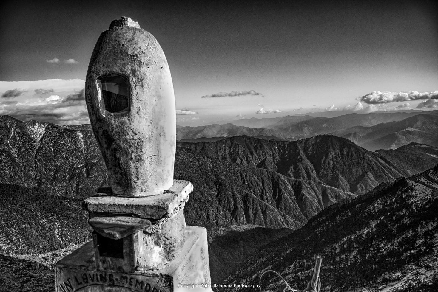 Rock Memorial at Sela Pass