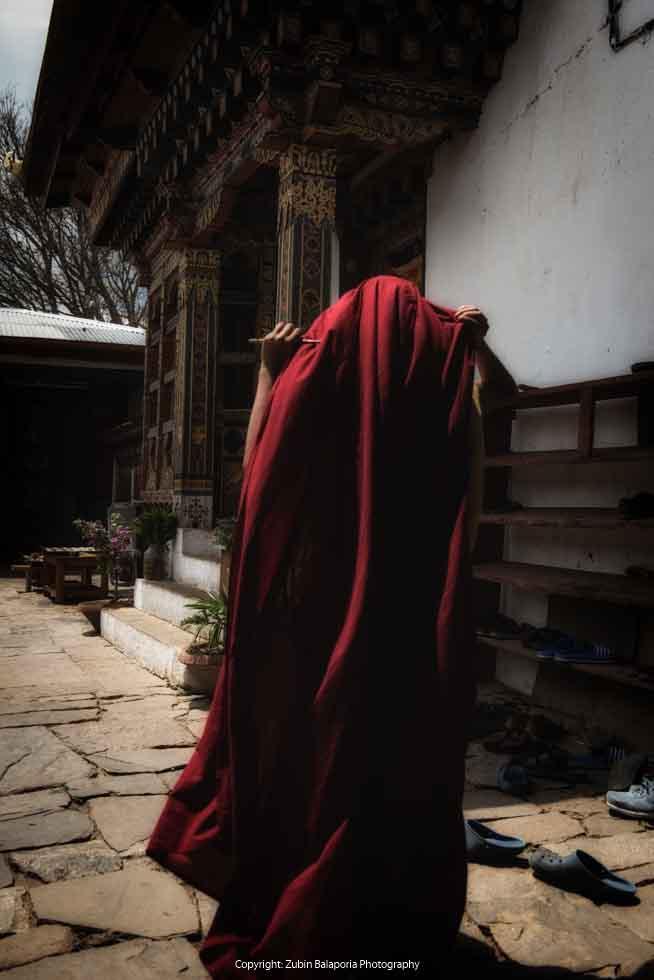 The Faceless Monk