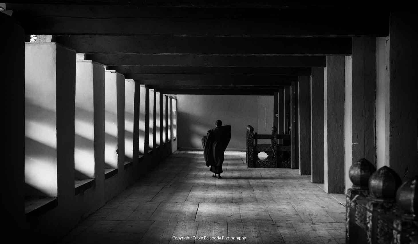 The Shrouded Pillar Monk