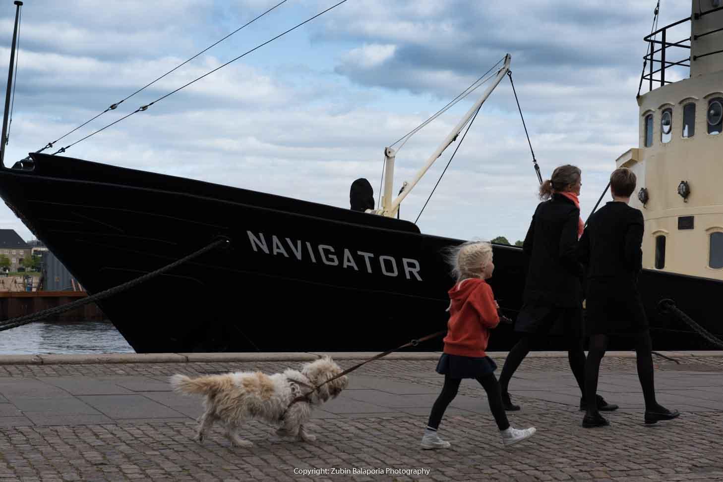 Navigator Series - Girl & Dog