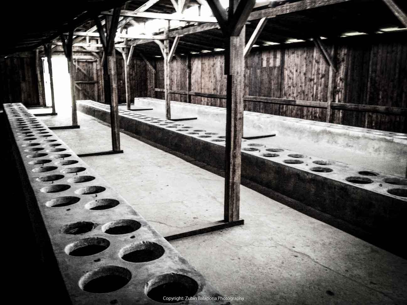 Auschwitz Toilets