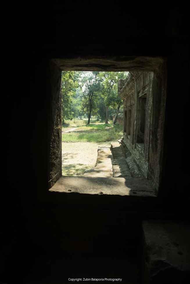 Angkor Wat - Framed in Green