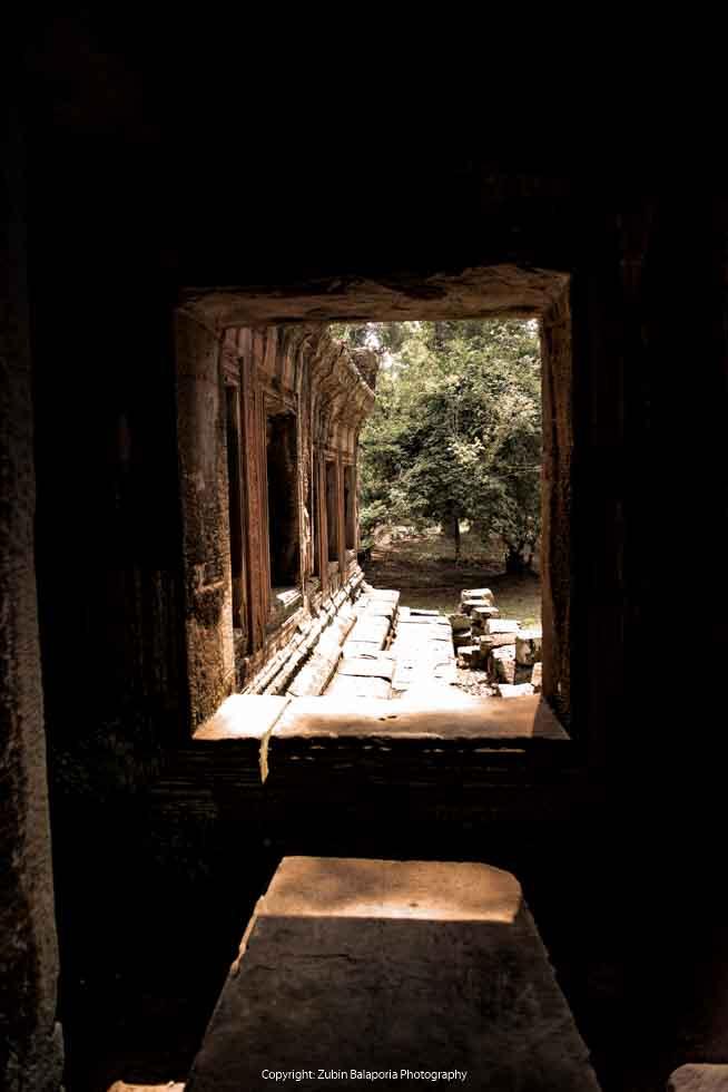 Angkor Wat - Framed in Ochre