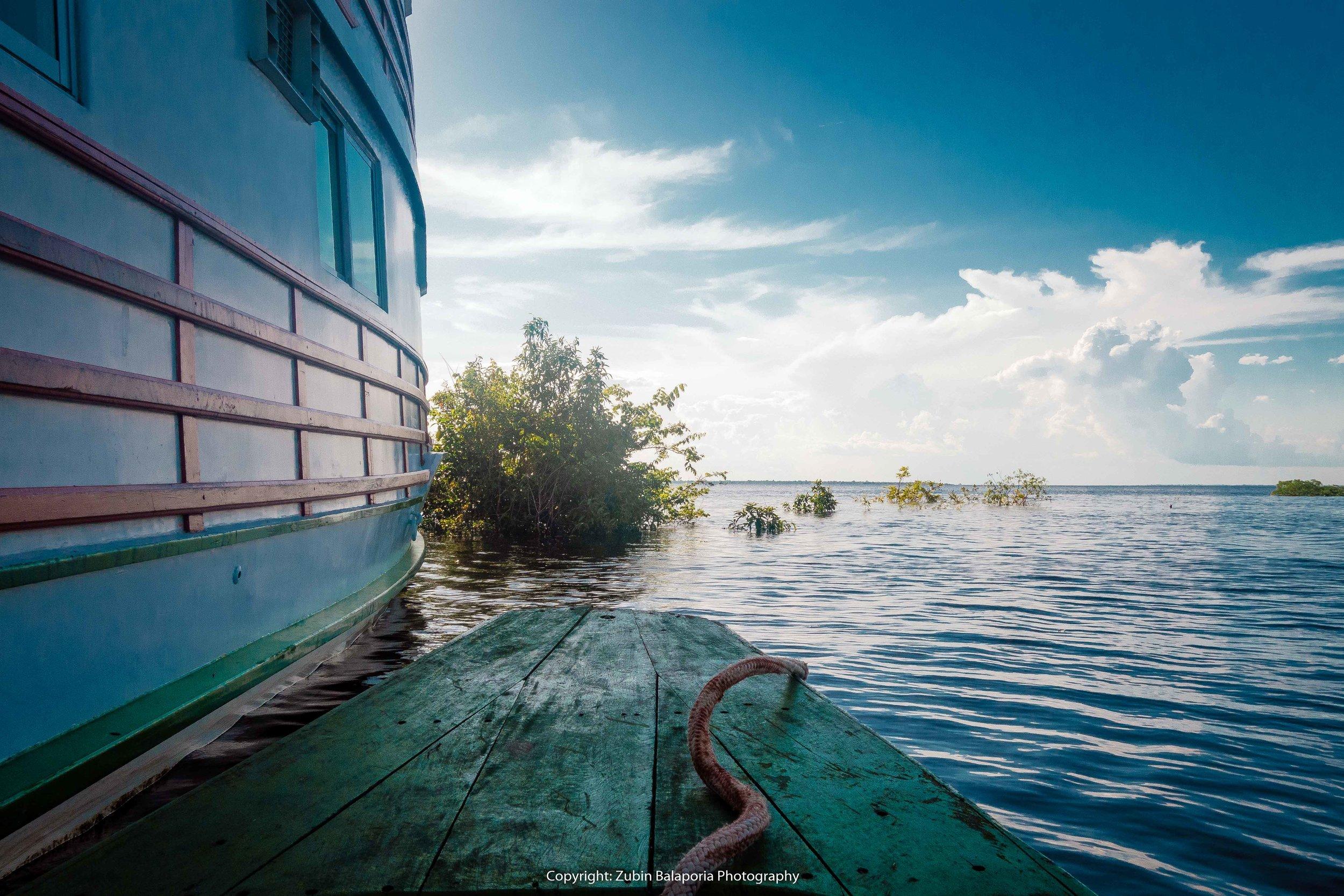 Amazon Boat & Canoe by the Side.jpg