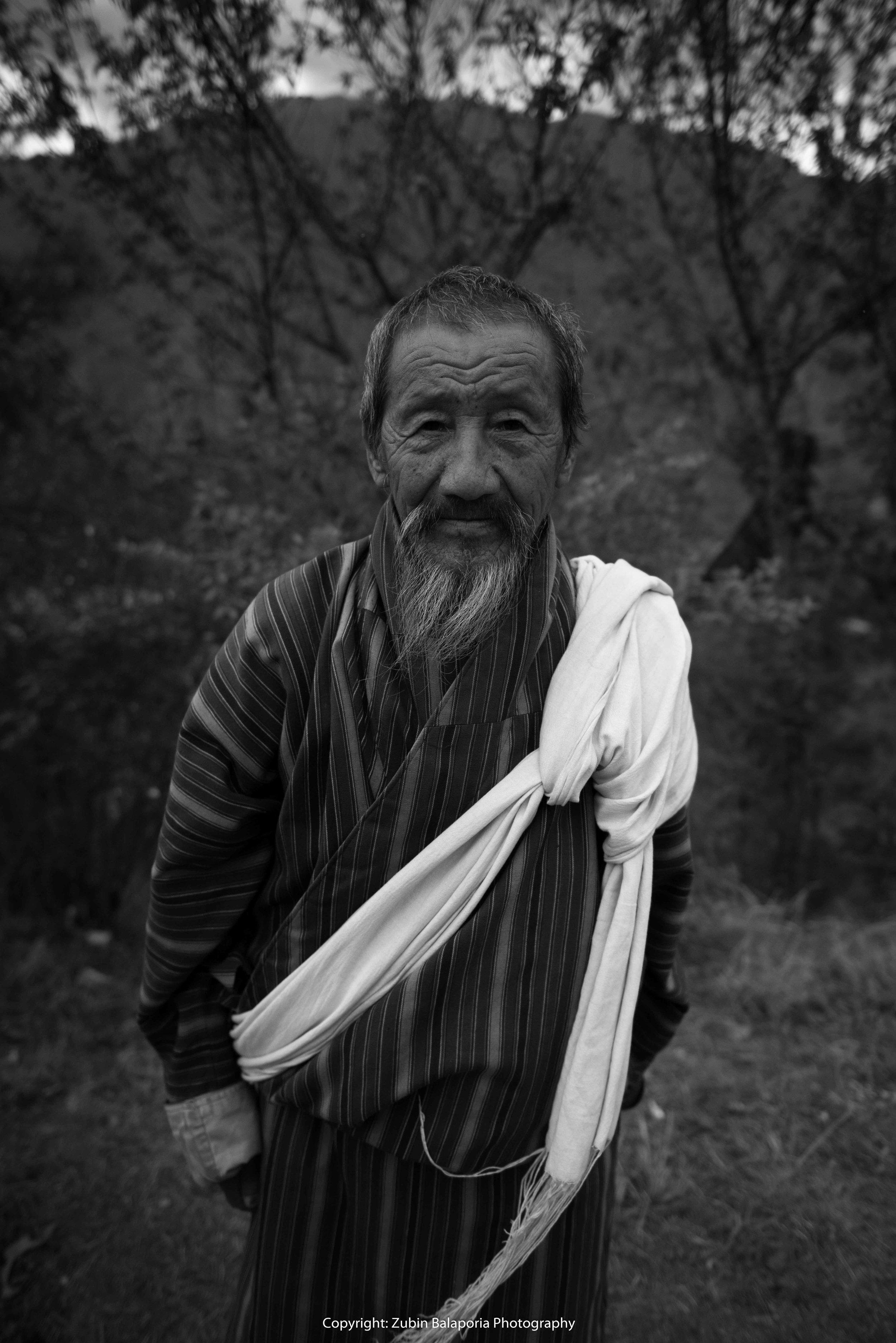 BHU Monks 15 BW.jpg