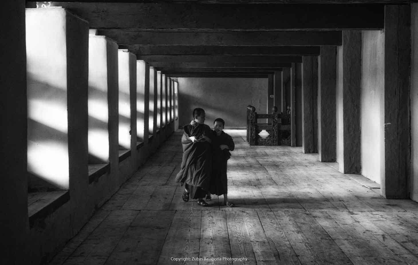 BHU Pillar Hall Monks 20 BW.jpg