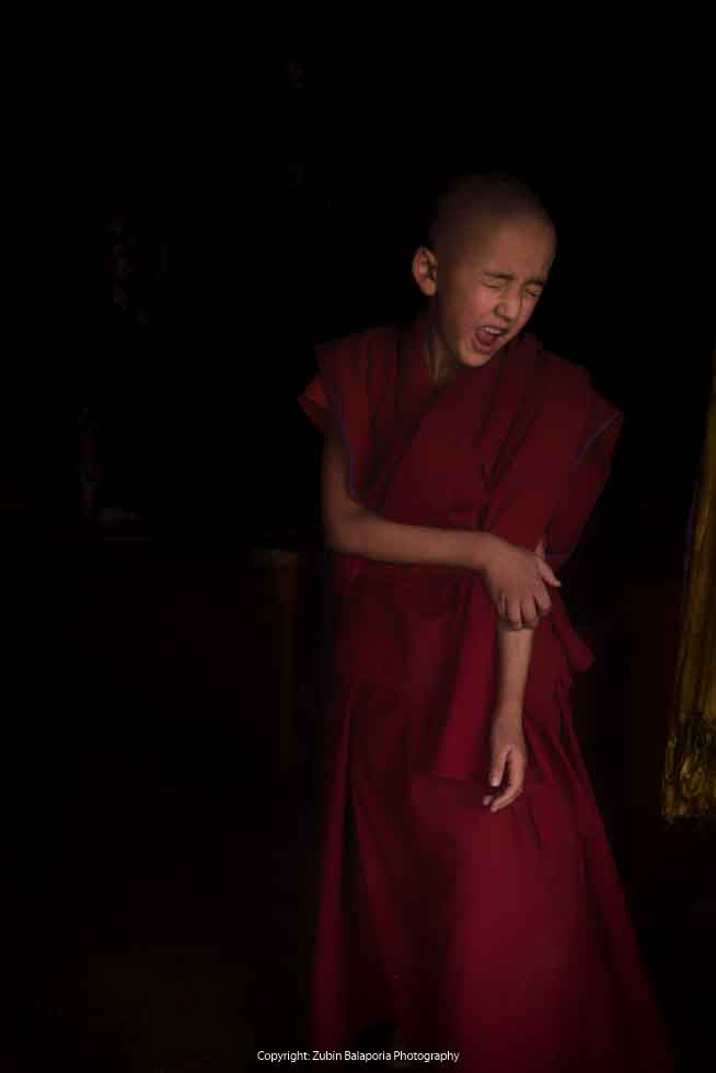 The Anguished Boy Monk