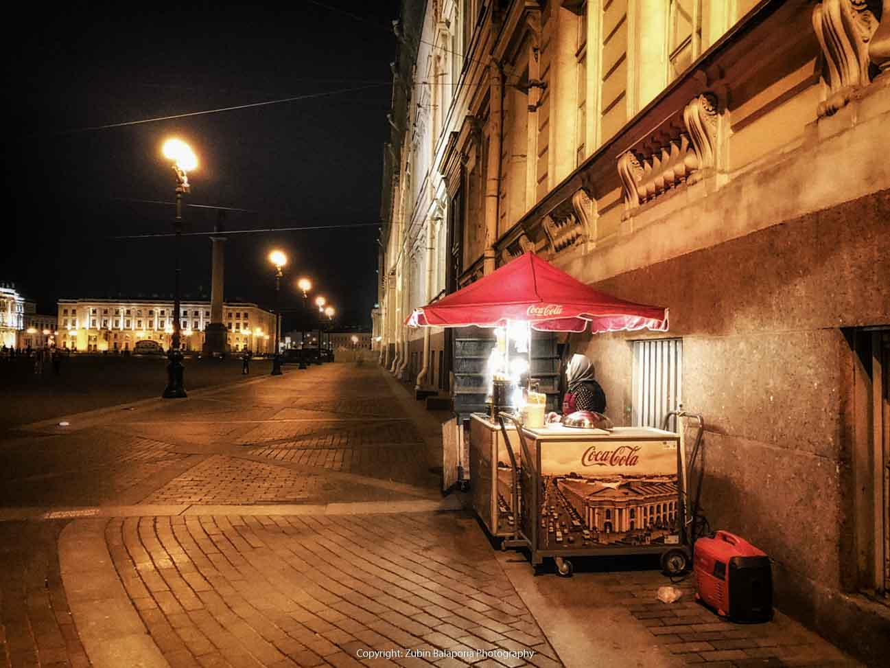 The Vendor from St Petersburg