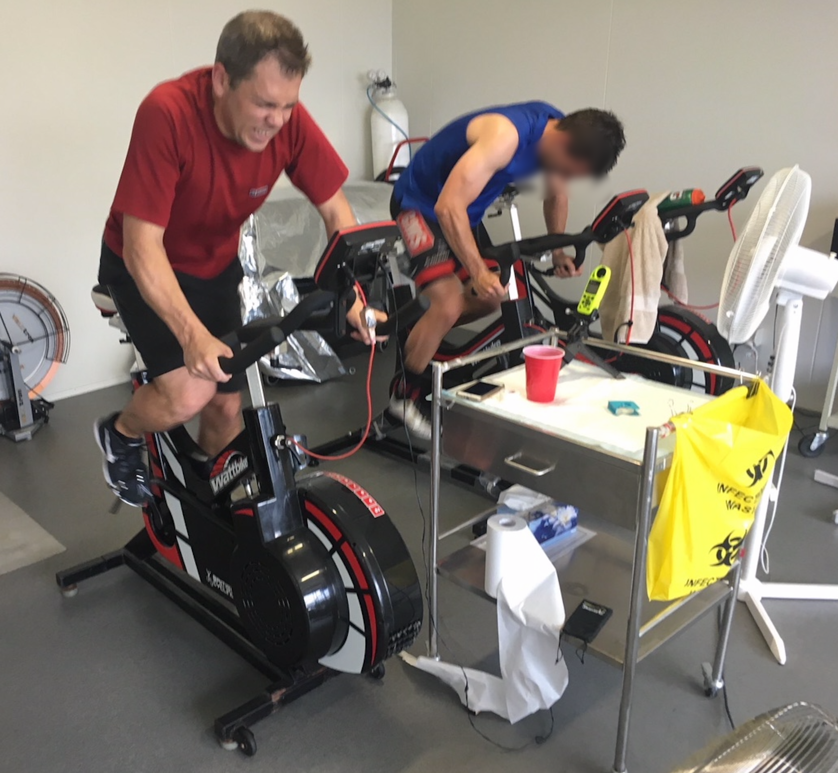 Repeated sprint training in the heat -