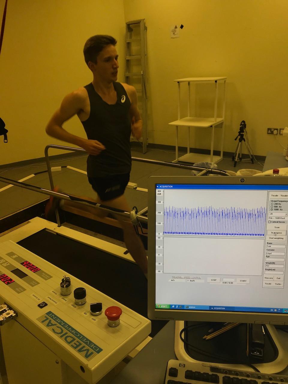 Bilateral leg asymmetry, fatigue & running speed -