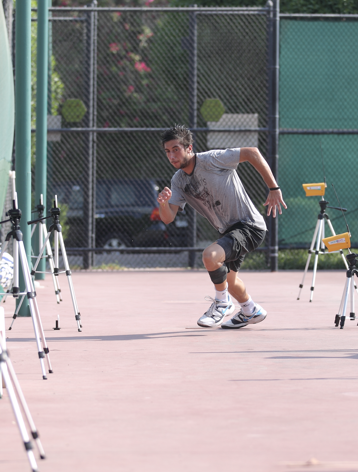 On-court physical testing in tennis -