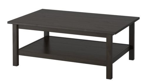 Ikea Hemnes Coffee Table - Or really...any ugly simple coffee table.