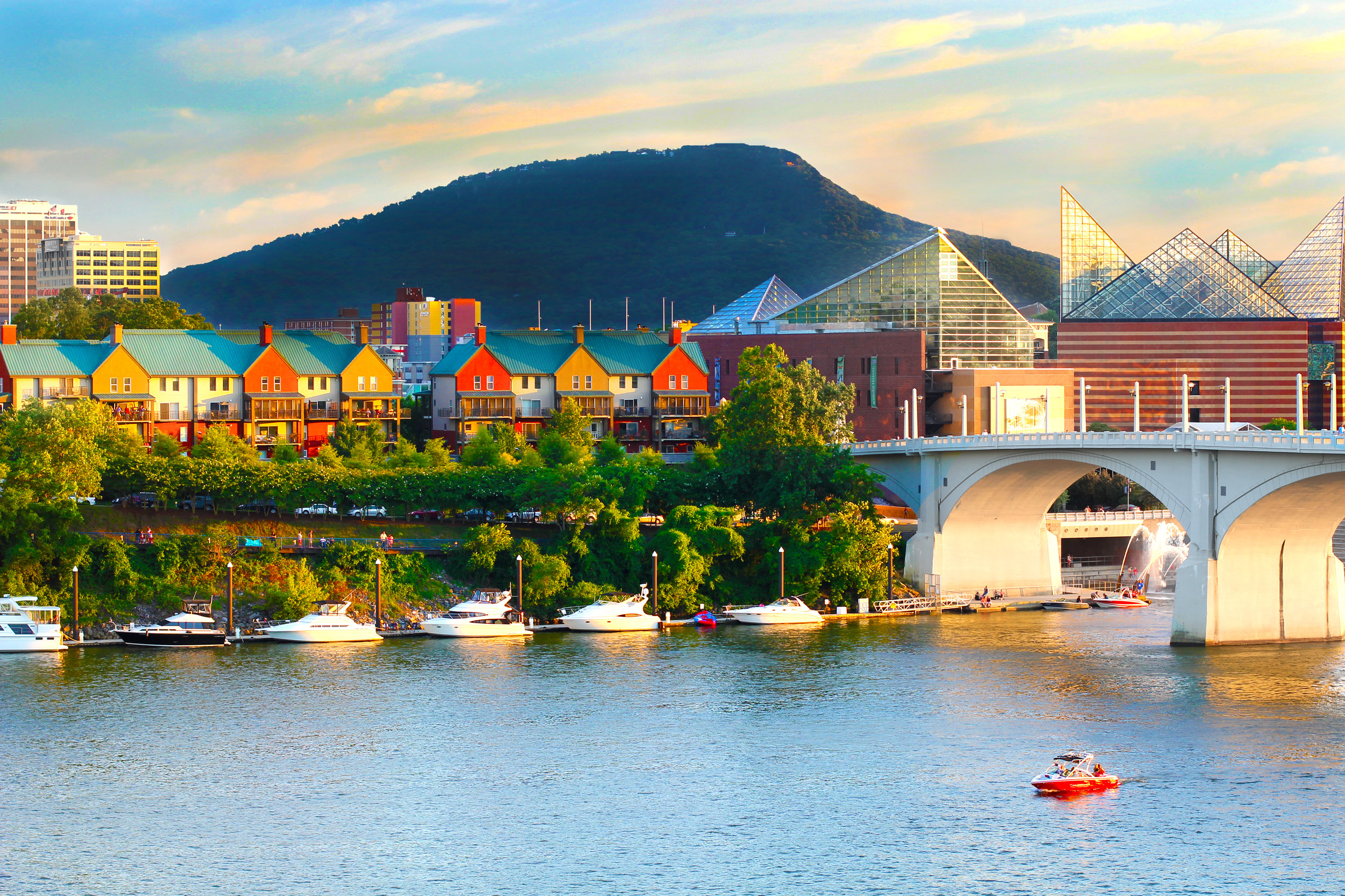 By 2015, Chattanooga was one of the cleanest cities in America and the only two-time winner of Outside's Best Town Ever. -