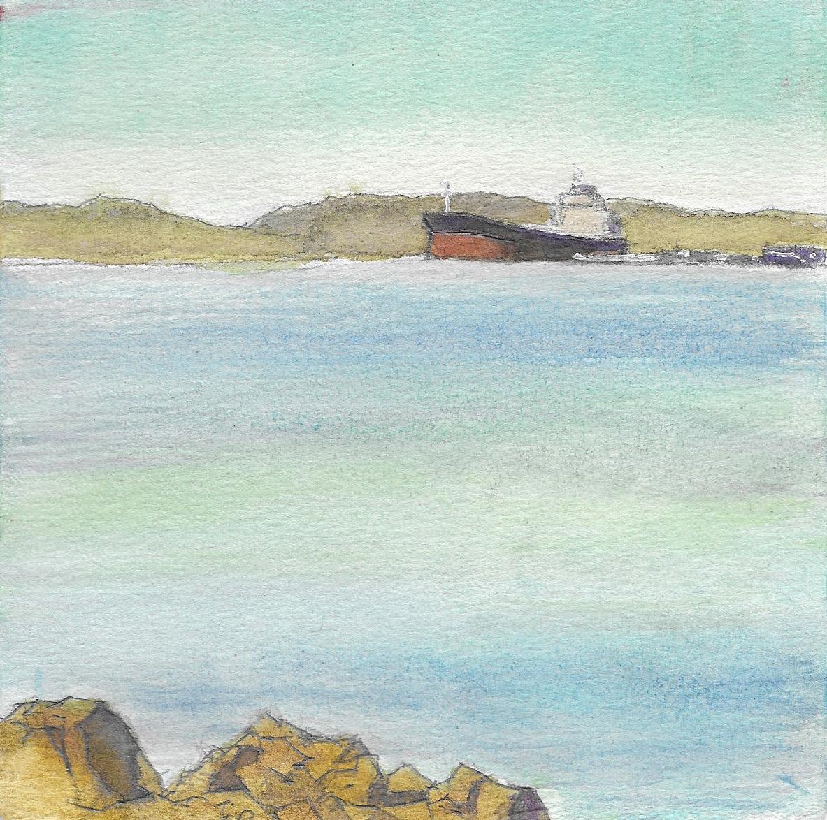 Tanker, Point Richmond