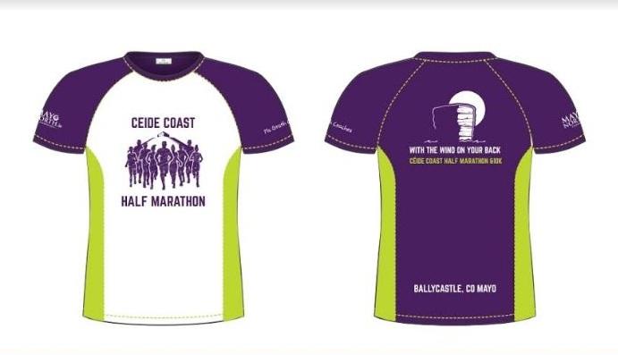 Ceide Coast half Marathon tech top 2018