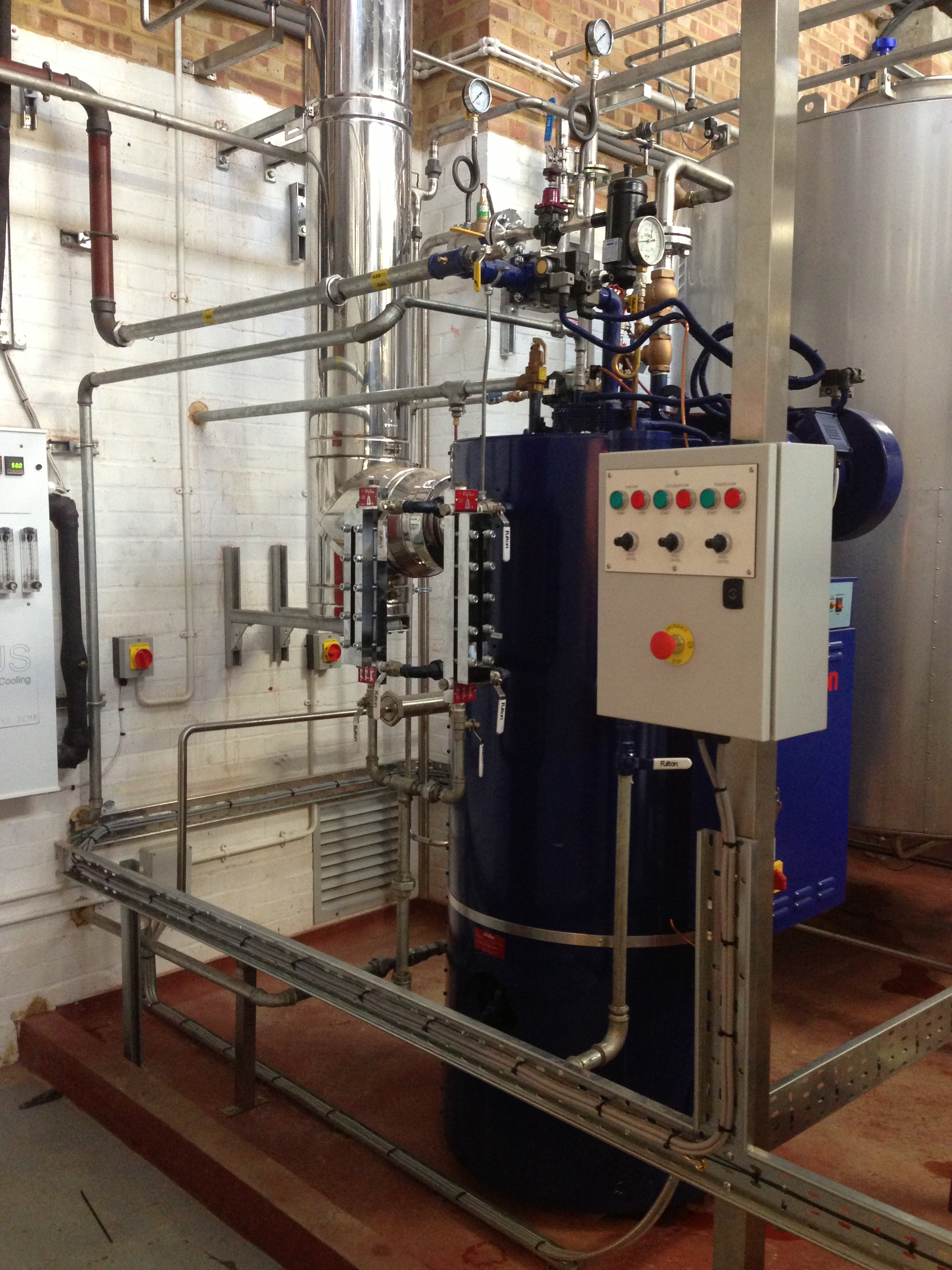 Gas fired steam boiler for Gypsy Hill Brewery (3).JPG
