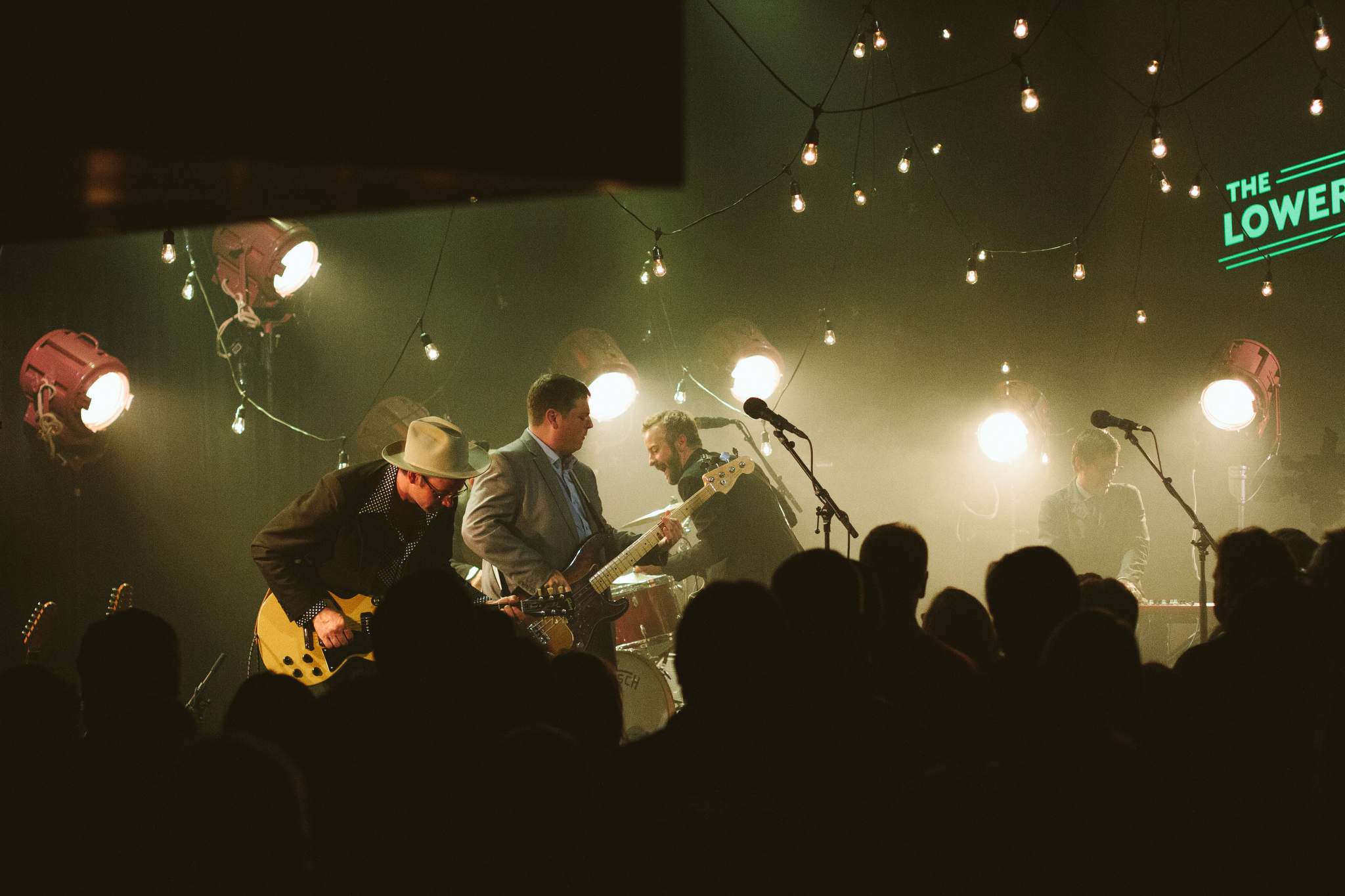 Dead Man Winter with Trampled by Turtles front man Dave Simonett, Erik Koskinen and JT Bates