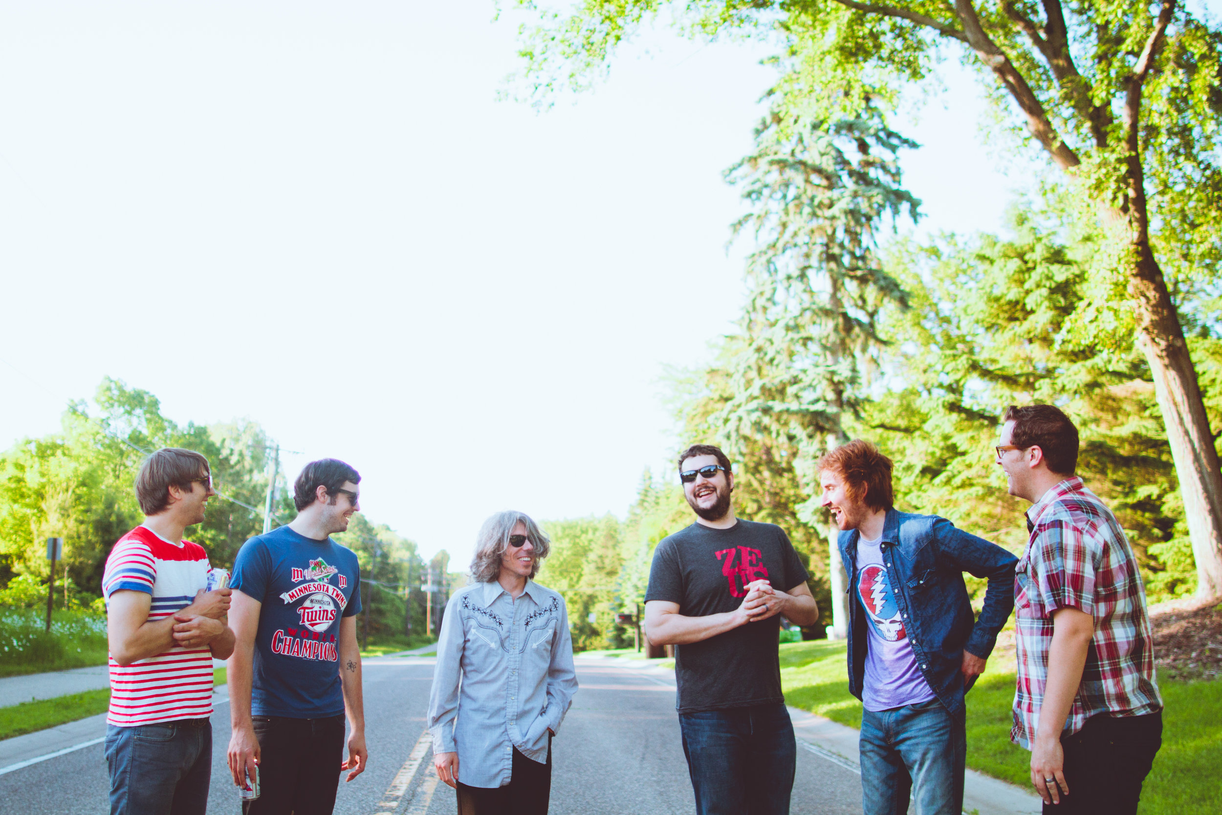 Promo Photography for Twin Cities band Farewell Milwaukee