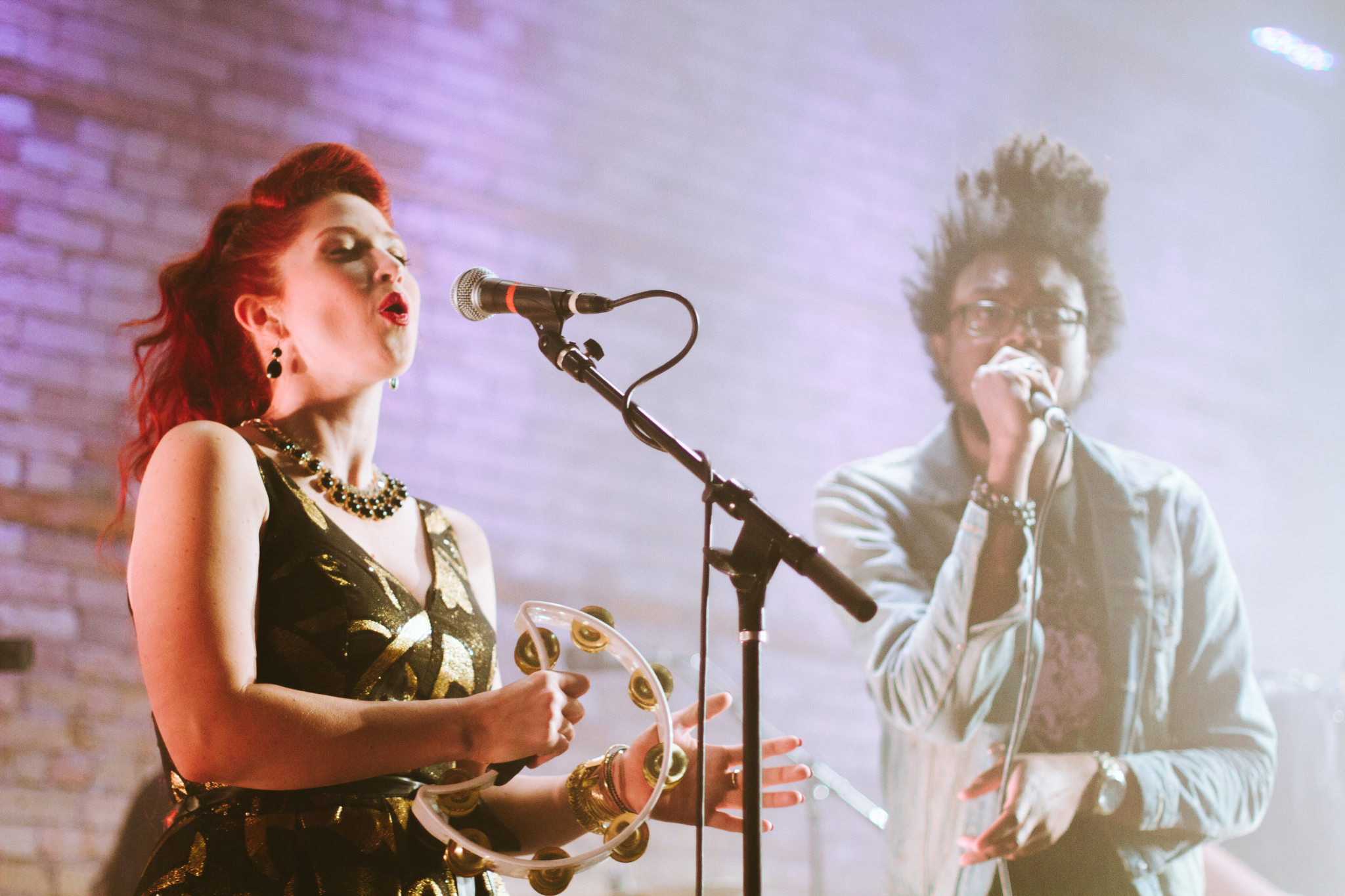 Photos of Minneapolis band Black Diet for PBS program the Lowertown Line