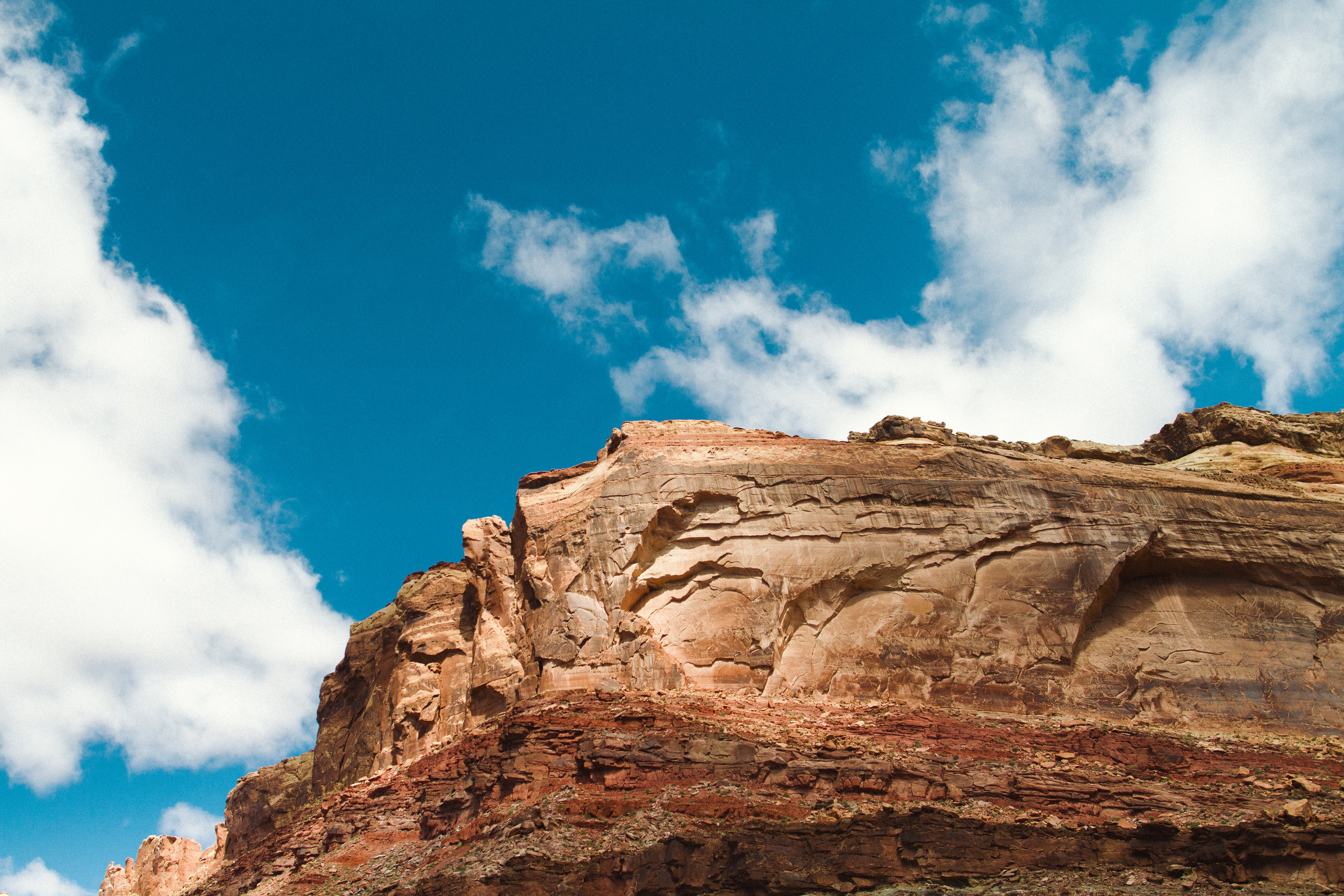 Black Dragon Canyon in Utah by Seattle Commercial Kids Adventure Photographer, Sara Montour Lewis