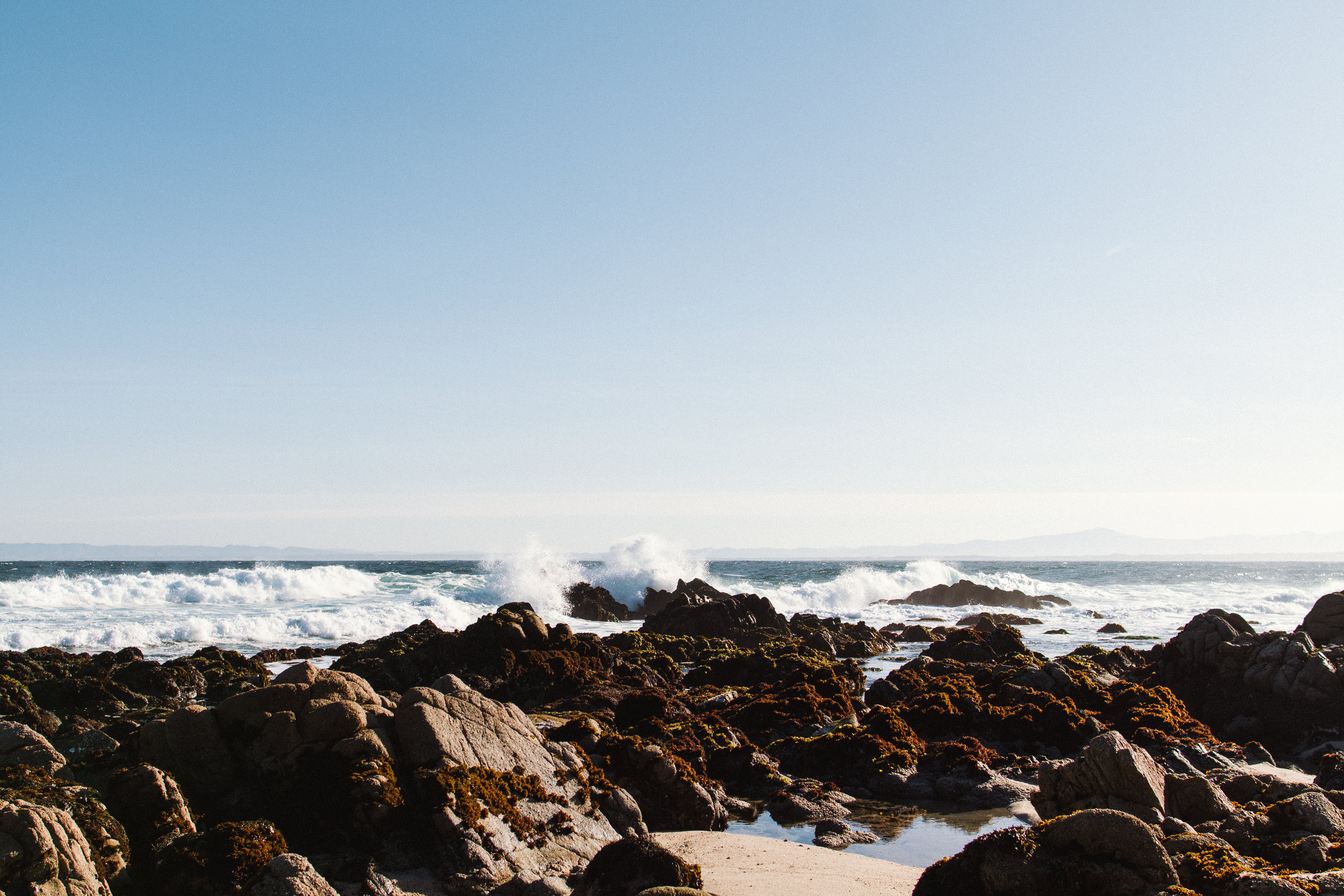 Commercial Adventure Lifestyle Photography in Monterey Bay, California