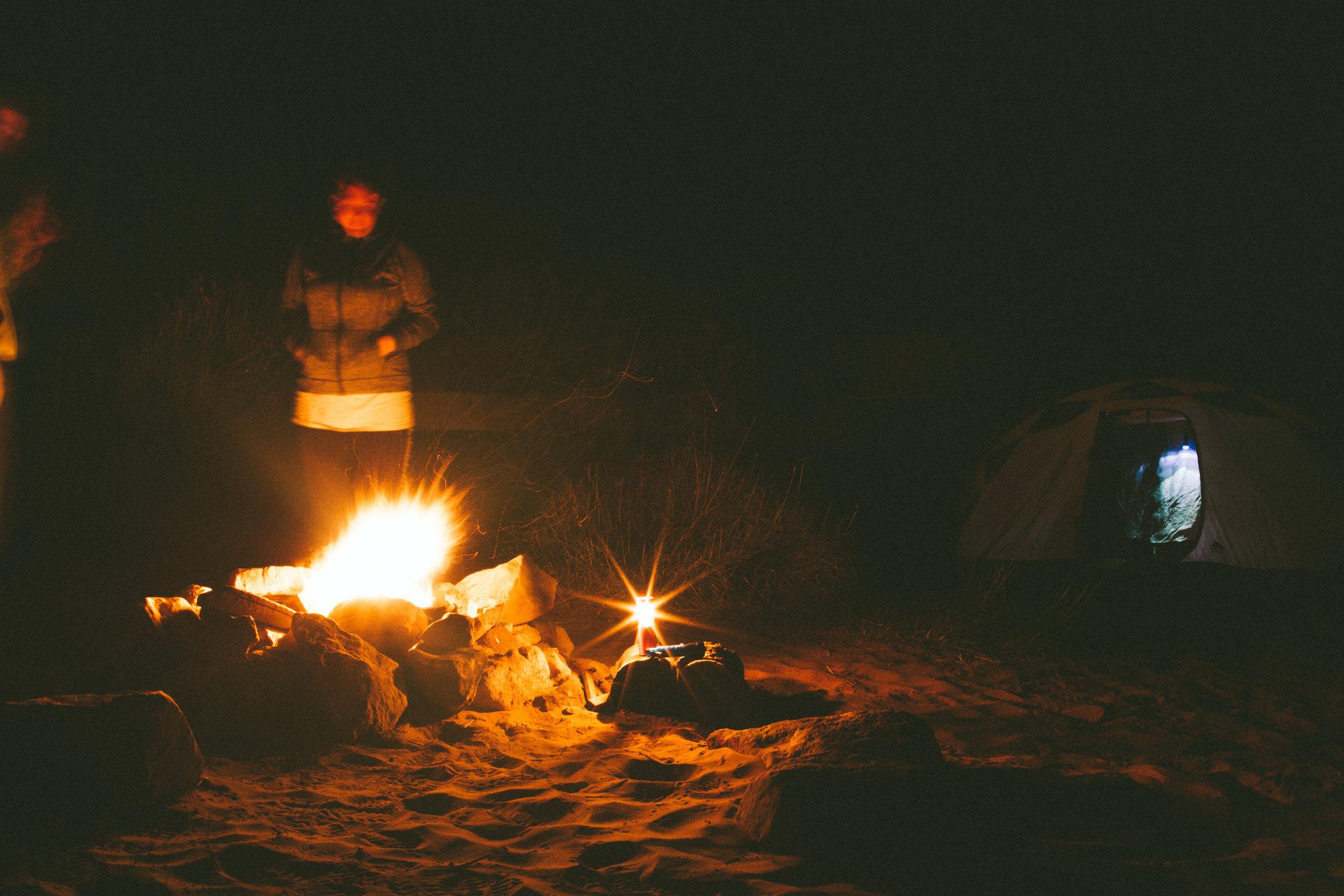 Van Life Couple Camping in Moab, Utah