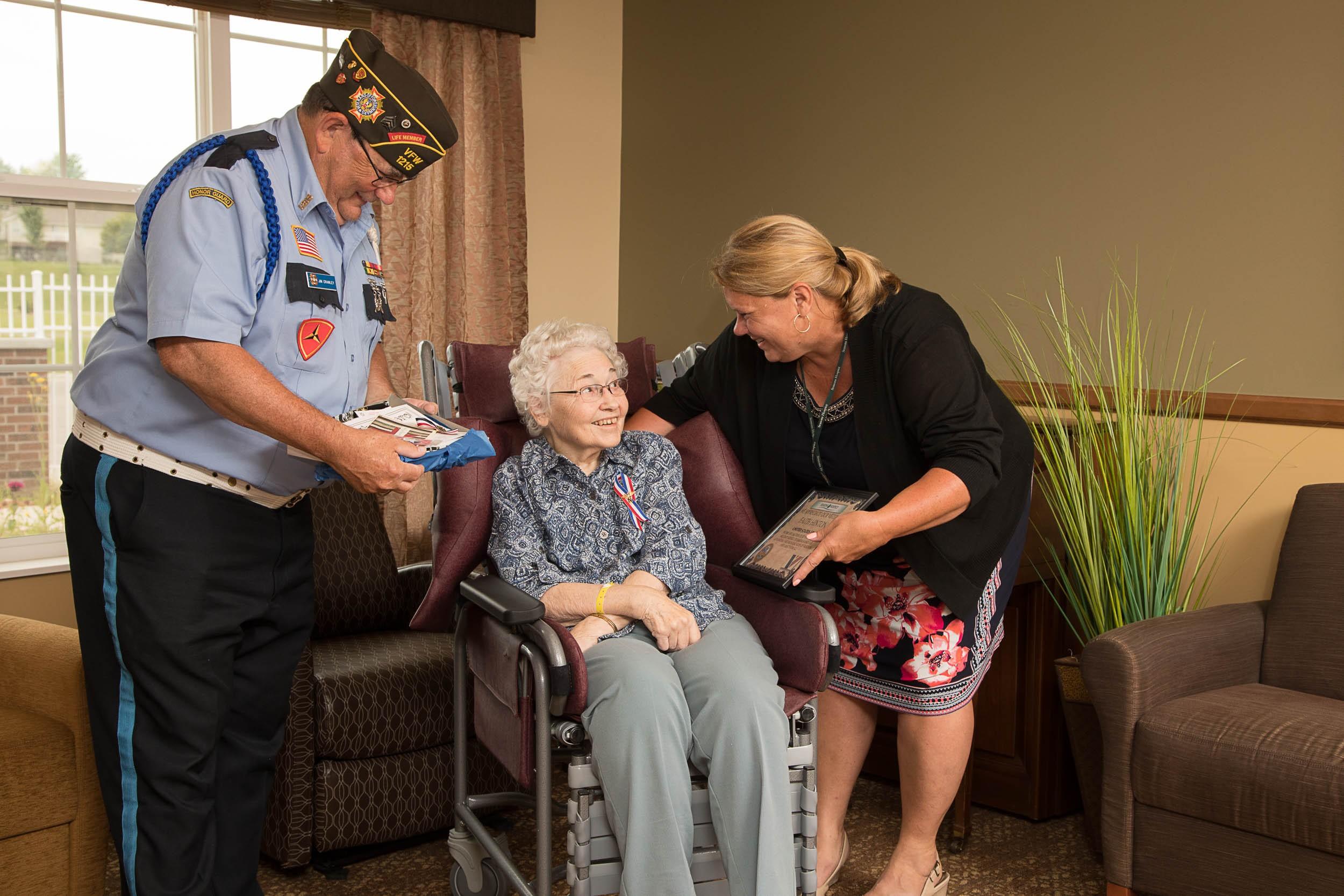 Vet to Vet Volunteer - female soldier.jpg