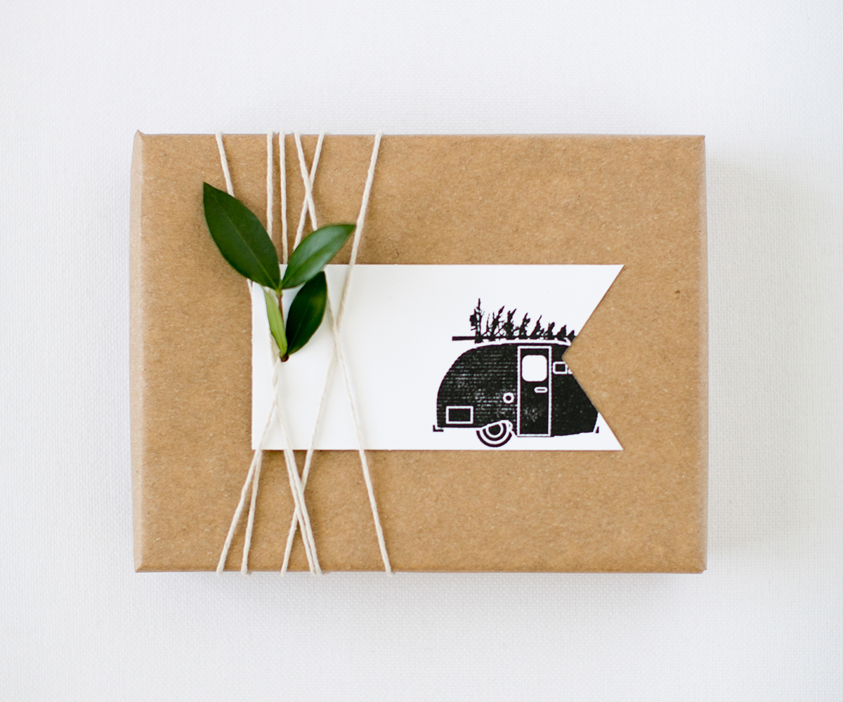 Christmas Camper Stamp | Pretty Peas Paperie