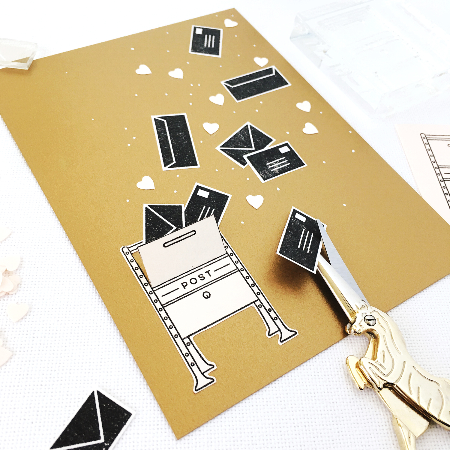 DIY Valentines for Snail Mail Lovers | prettypeas.com