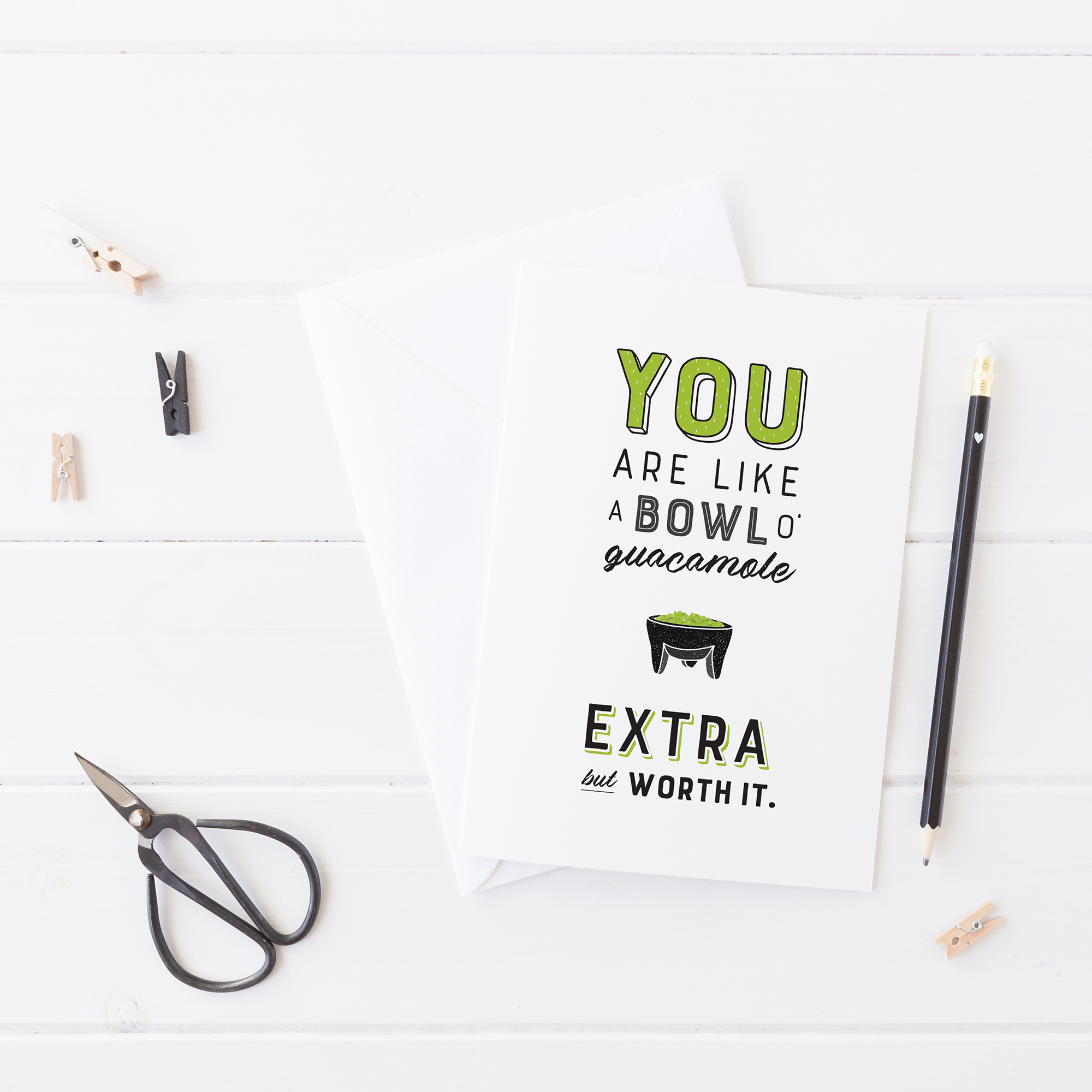 Free Printable | Valentine's Day Card for Guacamole Lovers (appropriate for everyone) | prettypeas.com