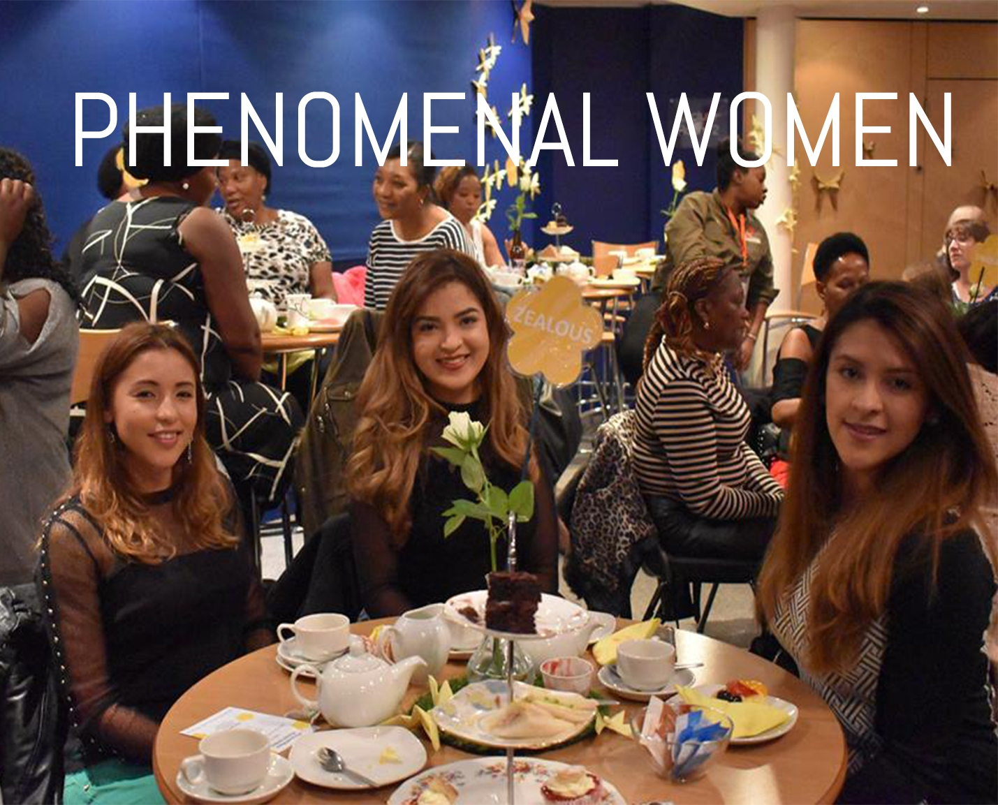 Phenomenal Women is a group for all those lovely ladies. It's a time to enjoy things such as cake and laughter. We regularly get very gifted speakers in - and to be honest it's great to get some girl time!