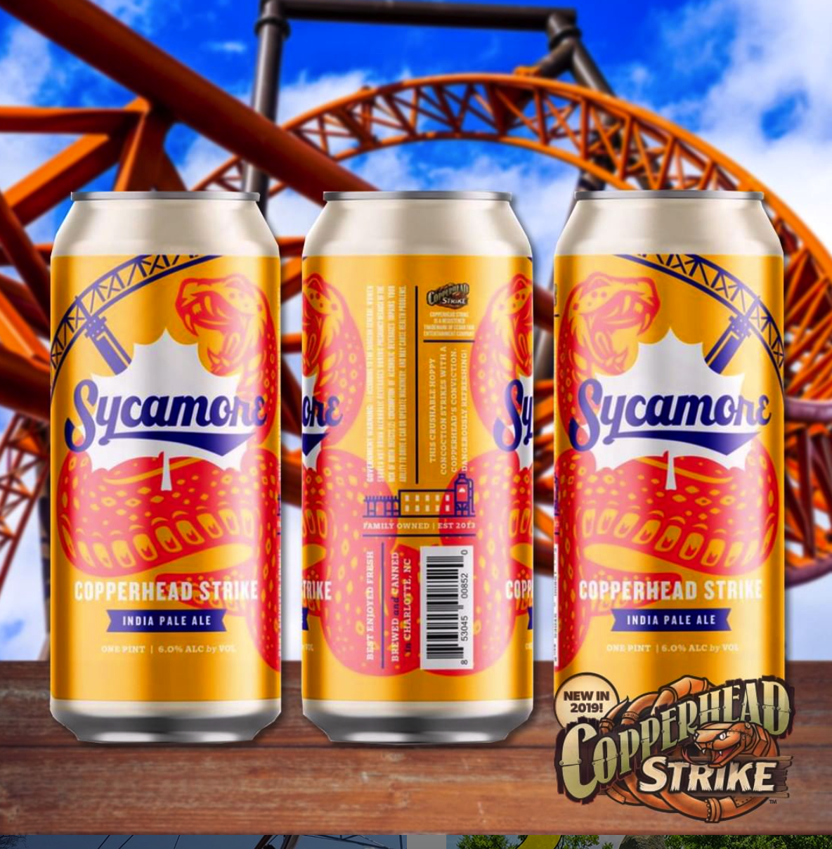 Carowinds Ticket Giveaway! — Sycamore Brewing