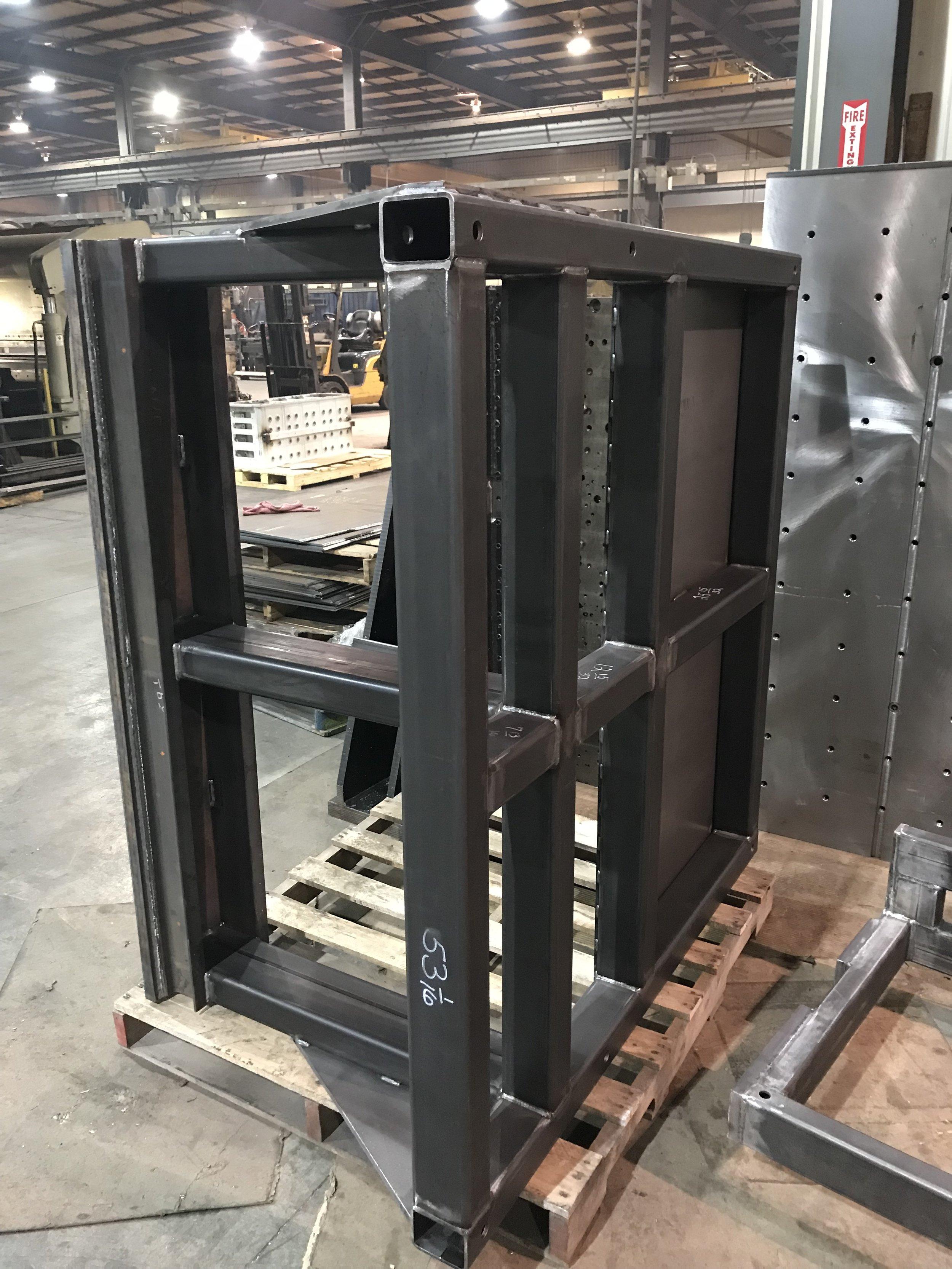 Welded frame ready for machiningB; 14 FEB 2019.jpg