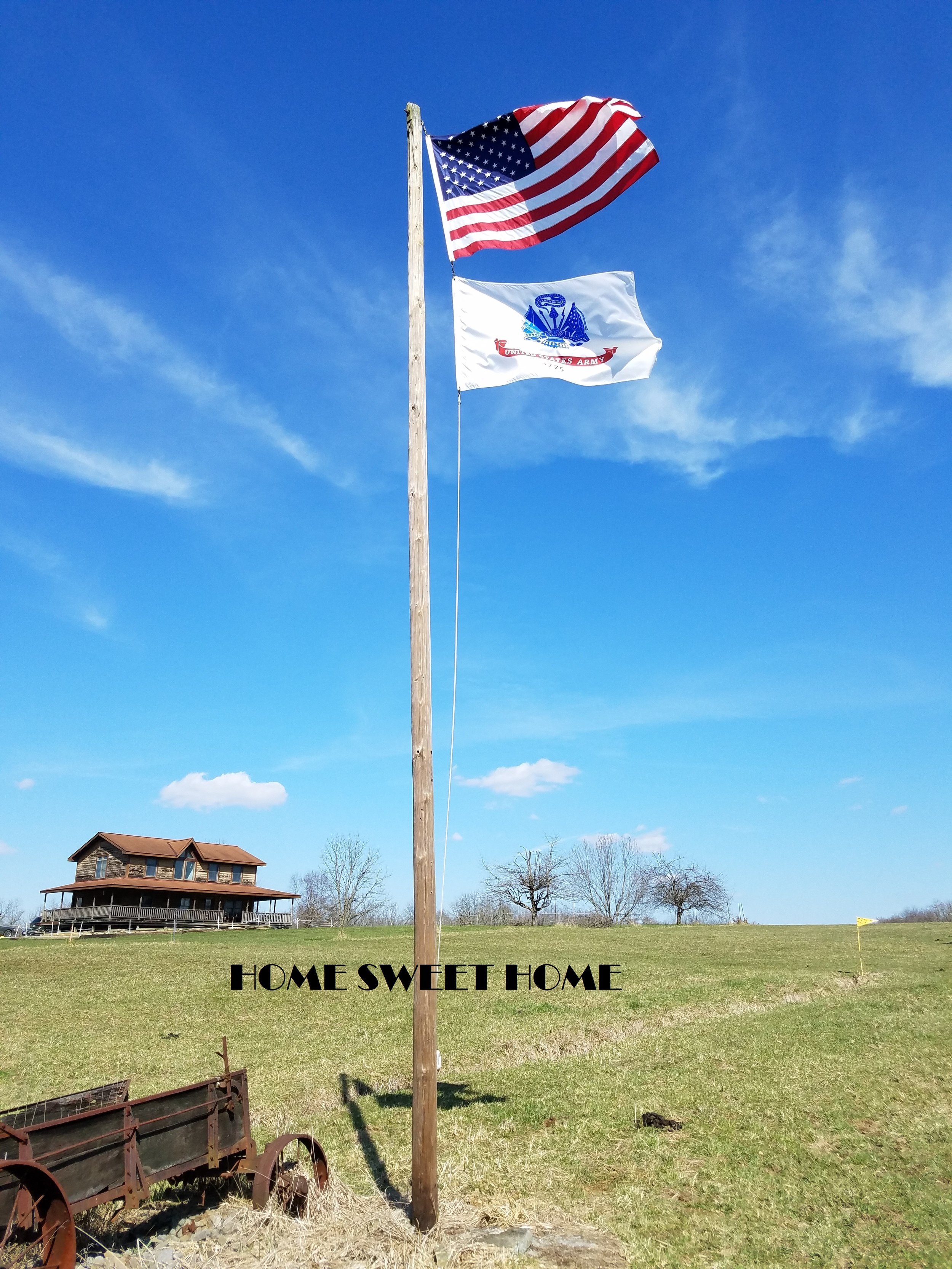 Great US Army flags;HOME SWEET HOME.jpg